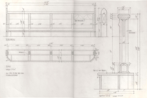 Altar Rail Design 1