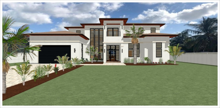 Cayman Islands House Render