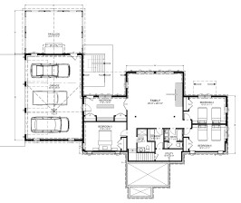 Windham NY Lower Level Plan