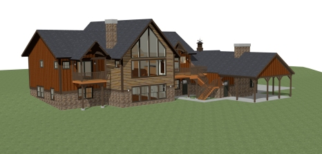 Windham NY House Render 2