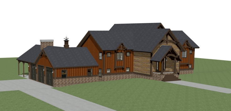 Windham NY House Render 1
